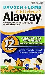 Alaway Children's Antihistamine Eye Drops, 0.17 Fluid Ounce