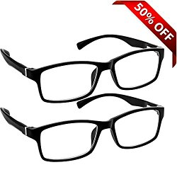 Computer Reading Glasses 0.00 _ Protect Your Eyes Against Eye Strain, Fatigue and Dry Eyes from Digital Gear with Anti Blue Light, Anti UV, Anti Glare, and are Anti Reflective