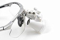 Dental Power 3.5X Binocular Loupes 420mm Working Distance Glasses