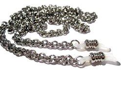 Double Loop Chain Eyeglass Holder – Stainless Steel Eyeglass Chain