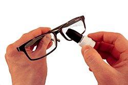 iGlassClean: Liquid Free – Reusable Lens, Eyeglass and Sunglass Cleaner- Patented Design