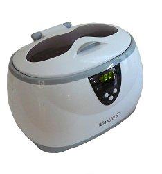 iSonic D3800A-W Digital Ultrasonic Cleaner, 1.3Pt/0.6L, White Color, 110V