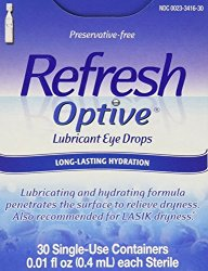 Refresh Preservative-Free Lubricant Eye Drop – 30 Single Use Containers