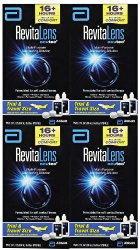 RevitaLens Multipurpose Solution and Lens Case – 2 oz – 4 ct