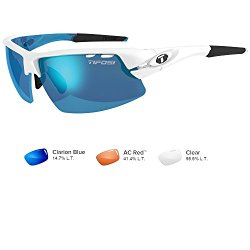 Tifosi Crit Interchangeable Skycloud – Clarion Blue/AC Red/Clear