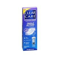 Alcon Clear Care Ciba Vision Disinfecting Solution 12 oz. (Pack of 6)