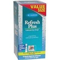 Allergan Refresh Plus Lubricant Eye Drops, Value Size, 70 ct.