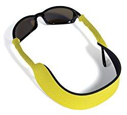 Croakies Floater Eyewear Retainer, Yellow