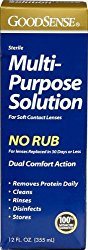 Good Sense Multi-Purpose Solution, For Soft Contact Lenses 12 fl oz (355 ml)