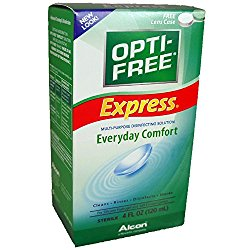 OPTI-FREE EXPRESS Everyday Comfort, 4 oz (Pack of 4)