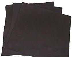 Opti Polishing Cloth: Pkg of 3 – 12″ X 12″ Black