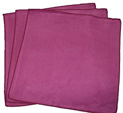 Opti Polishing Cloth: Pkg of 3 – 12″ X 12″ Wine