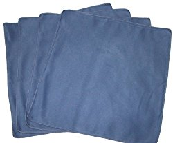 Opti Polishing Cloths: Pkg of 4 – 12″ x 12″- Blue
