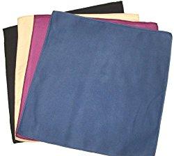 Opti Polishing Cloths: Pkg of 4 – 12″ X 12″ Mixed Colors