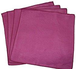 Opti Polishing Cloths: Pkg of 4 – 12″ X 12″ Wine Color