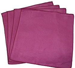 Opti Polishing Cloths: Pkg of 4 – 6″ X 6″ Wine