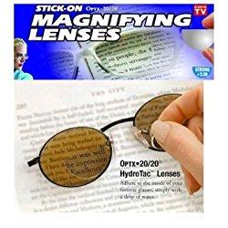 Stick-on Reading Lens – Optx 200