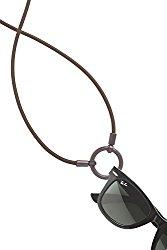 World Famous and Original LaLoop eyeglass necklace Sport Loop in Brown