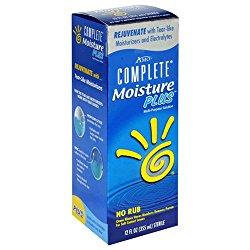 Complete MoisturePlus Multi-Purpose Solution, No Rub, 12-oz Bottle