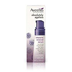 Aveeno Absolutely Ageless, Intensive Renewal Serum, 1 Fluid Ounce