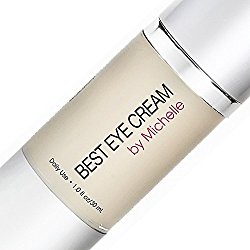 Best Eye Cream by Michelle ~ Combo Anti Aging Eye Gel, Makeup Primer, and Wrinkle Cream for Eye Bags, Dark Circles, Puffiness, Crows Feet, and Fine Lines ~ with Retinol, Hyaluronic Acid, Vitamin C, and Aloe