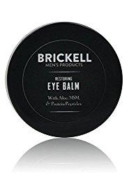 Brickell Men's Restoring Eye Balm for Men – .5 oz – Natural & Organic