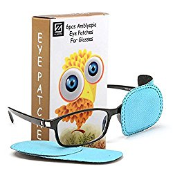 Comix 6pcs Amblyopia Eye Patches For Glasses, Kids Eye Patch,Strabismus, Lazy Eye Patch For Children