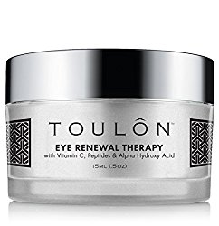 Eye Cream for Dark Circles and Puffiness. Reduces Fine Lines & Dark Spots with Vitamin C, Peptides & Alpha Hydroxy Acid. Minimizes Crows Feet, Puffy Eyes and Bags