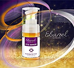 Eye Serum for Puffiness Dark Circles Eye Bags & Wrinkles – The Ultimate Natural Eye Cream to Recapture Youth – 0.5 Oz (15ml)