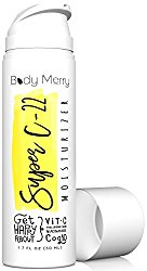 Super C-22 Moisturizer- Vitamin C Cream 22% w Hyaluronic Acid 20% – 2-in-1 Serum + Anti-Aging Lotion for Wrinkles & Acne – Best Lotion for Day or Night Use – Amped w CoQ10 + Niacinamide…