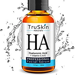 The BEST Hyaluronic Acid Serum for Skin & Face with Vitamin C, E, Organic Jojoba Oil, Natural Aloe and MSM – Deeply Hydrates & Plumps Skin to Fill-in Fine Lines & Wrinkles – (1oz)
