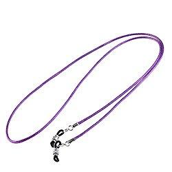 BESTOYARD Eyeglass Chain Eyeglass Sunglass Chain Neck Strap Cord Holder Purple 30 inch