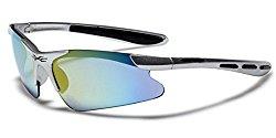 Children AGE 3-12 Half Frame Sports Cycling Baseball Sunglasses – Silver