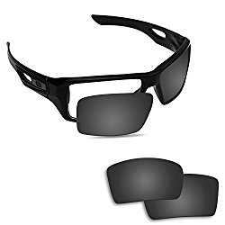 Fiskr Anti-saltwater Polarized Replacement Lenses for Oakley Eyepatch 2 Sunglasses