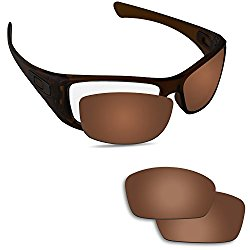 Fiskr Anti-saltwater Polarized Replacement Lenses for Oakley Hijinx Sunglasses