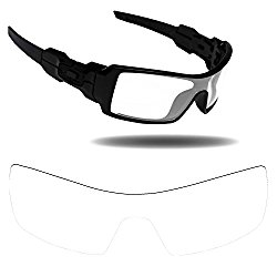 Fiskr Anti-saltwater Polarized Replacement Lenses for Oakley Oil Rig Sunglasses – Multiple Options