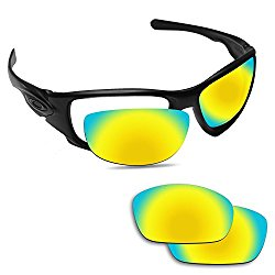 Fiskr Anti-saltwater Polarized Replacement Lenses for Oakley Ten X Sunglasses – Multiple Options