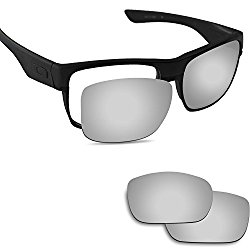 Fiskr Anti-saltwater Polarized Replacement Lenses for Oakley TwoFace Sunglasses – Multiple Options