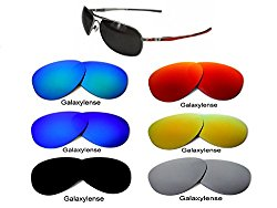 Galaxy Replacement Lenses For Oakley Plaintiff Multi- Color Option Polarized Green