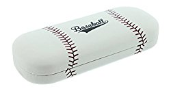 Hard Shell Eyeglass Case For Boys & Girls, Kids Small Glasses Case, Baseball