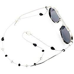 Kalevel Eyeglass Strap Sunglass Eyeglass Holder Beaded Eyeglass Chain for Women