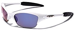 KIDS AGE 3-12 Half Frame Sports Sunglasses – Multiple Frame & Lens Colors
