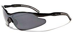 Kids AGE 3-12 Sports Half Frame Cycling Baseball Sport Sunglasses – Black