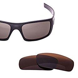 LenzFlip Oakley Crankshaft Lens Replacement – Brown Polarized Lenses