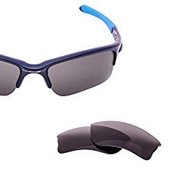 LenzFlip Oakley QUARTER JACKET Lens Replacement – Gray Polarized Lenses