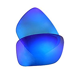 LenzFlip Oakley TURBINE Lens Replacement – Gray Polarized with Blue Mirror Lenses