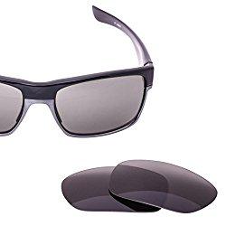 LenzFlip Oakley TwoFace Lens Replacement – Gray Polarized Lenses