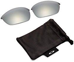 Oakley Half Jacket 2.0 Adult Replacement Lens Sunglass Accessories – Black Iridium