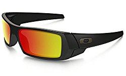 Oakley Men's GasCan Sunglasses,Matte Black Frame/Grey Lens,One Size