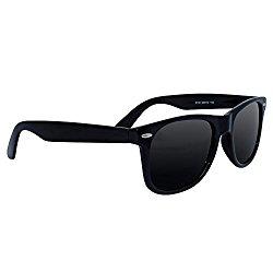 Polarized Wayfarer Sunglasses by EYE LOVE, Lightweight, 100% UV Blocking